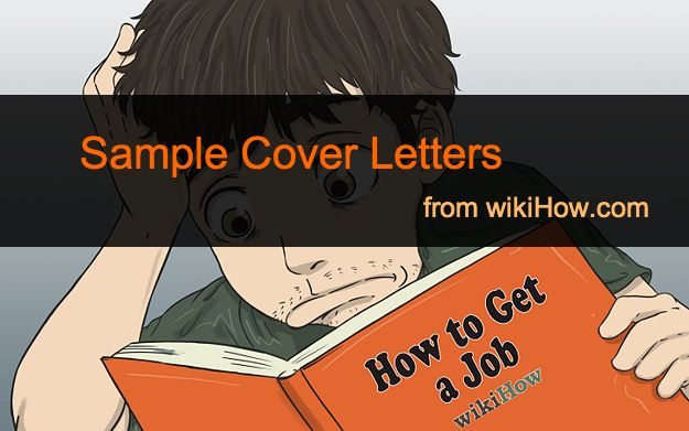wiki how to write a cover letters