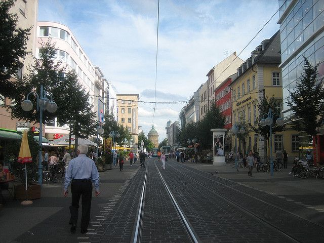 mannheim downtown | around the world    | Mannheim, Germany