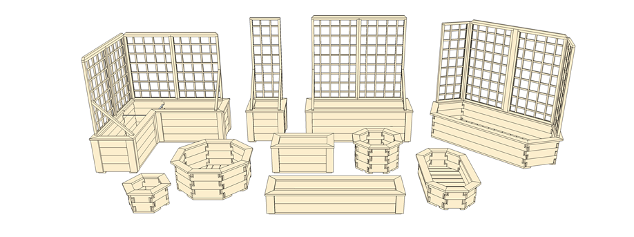 Raised Planters I Like The Idea Of Notched Boards With Pins To Increase Fit And Stabi Building Raised Garden Beds Raised Garden Beds Building A Raised Garden