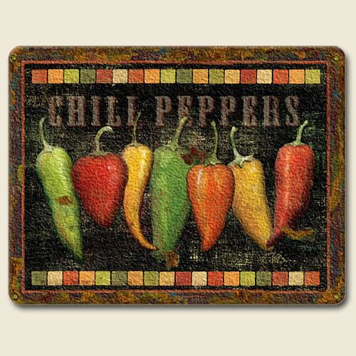Chili Pepper Kitchen Curtains: New CHILI PEPPER CUTTING BOARD Kitchen Decor SOUTHWEST