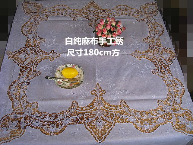 Cheap cloth lantern, Buy Quality tablecloth lace directly from China tablecloth scarf Suppliers: 	Exquisite handmade embroidery Insert Venice. Dimensions180X180The Cm issquare Fabric imported 100%Linen whitecolourPure