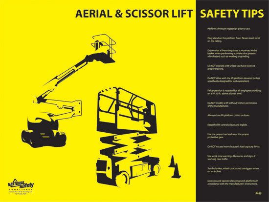 Aerial scissor lift safety aerial and scissor lift training wwwscissorlifttraining aerial for Aerial lift certification card template