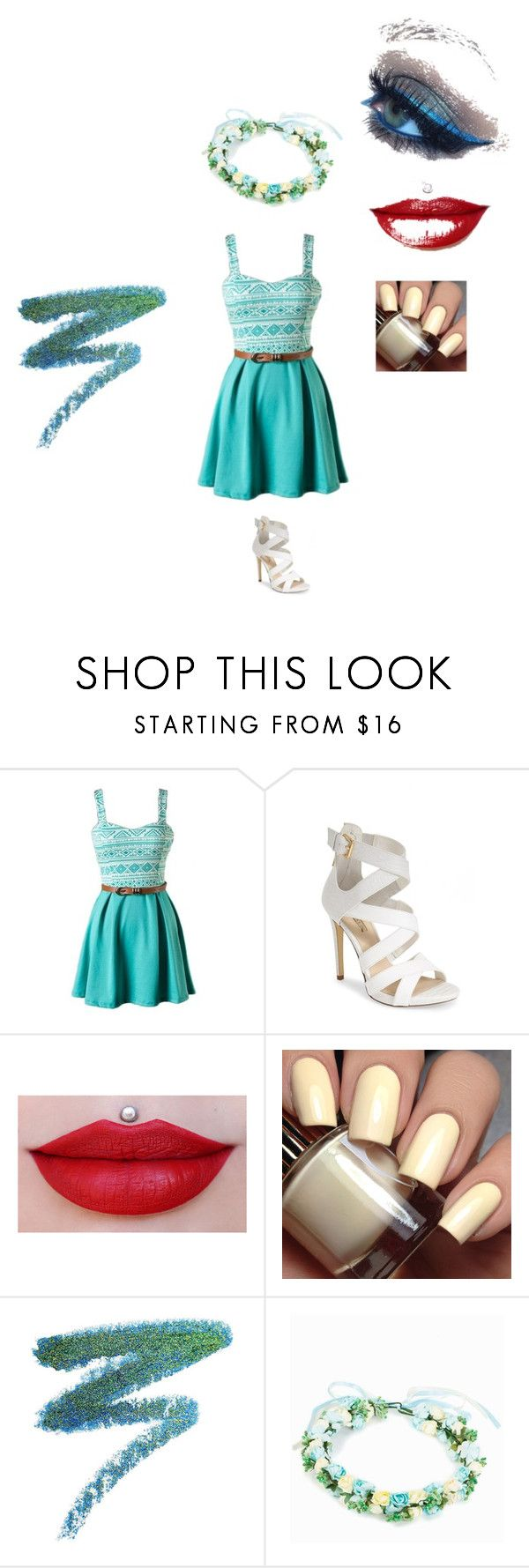 """""""Untitled #7"""" by xoxodaisy2003 on Polyvore featuring GUESS, Manic Panic and Rut&Circle"""