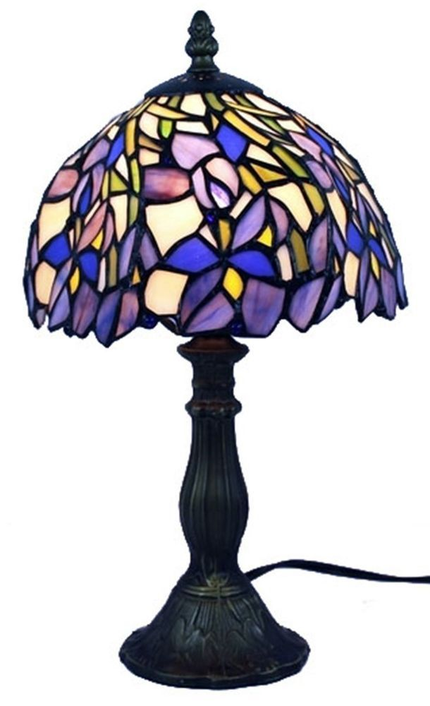 Amora Lighting Tiffany Style Table Lamp Iris Am1076tl08 Riscos