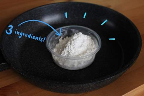 DIY Natural Cold Porcelain Clay (without Glue!) (With