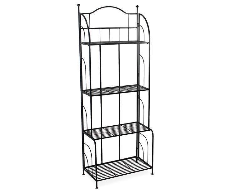 Wilson Fisher Black 4 Tier Bakers Rack Plant Stand Plant Stand