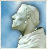 St. Dominic marble bust