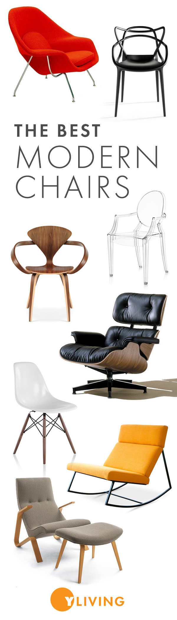 Yliving offers a range of the best mid century modern chairs and ...
