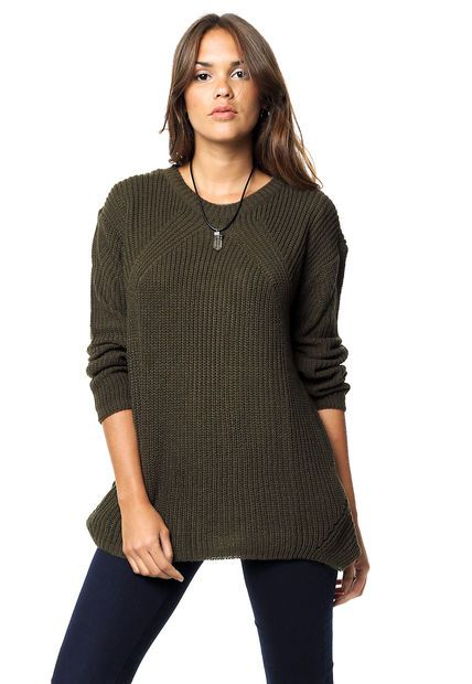 Sweater Verde By Deep