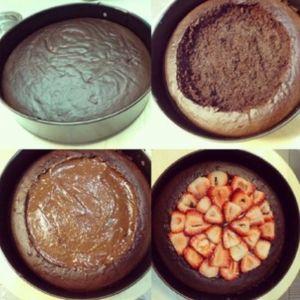 طريقة عمل كيكة قوس قزح من زيتونة Tort Kulinariya