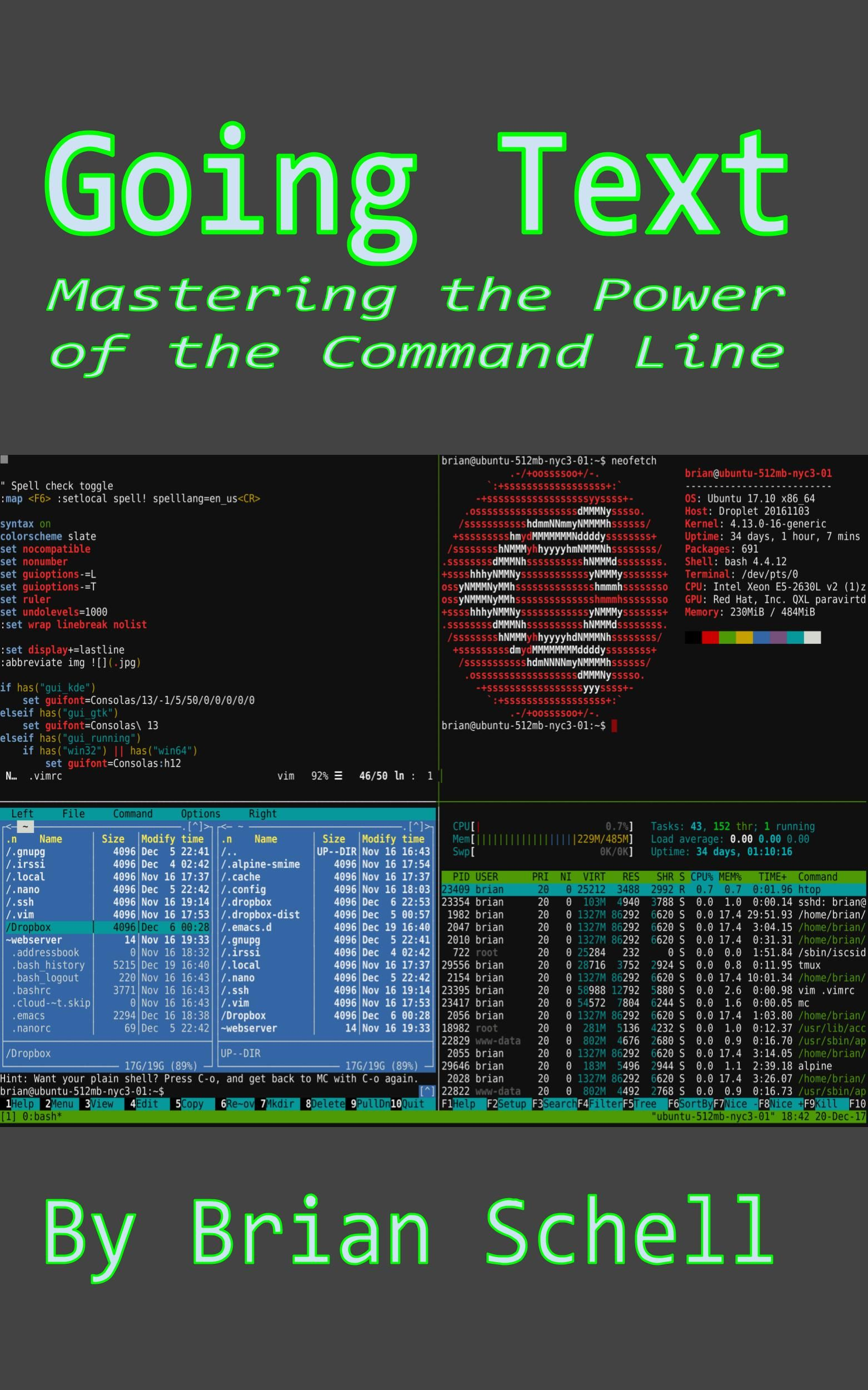 Going Text Mastering the Power of the Command Line