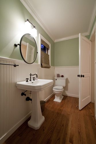 Traditional bathroom guest bath design pictures remodel for Guest half bathroom ideas