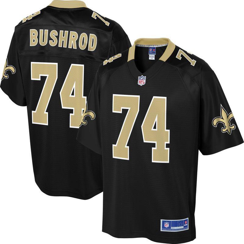 Jermon Bushrod New Orleans Saints NFL Pro Line Youth Player Jersey – Black 4e7227ac0
