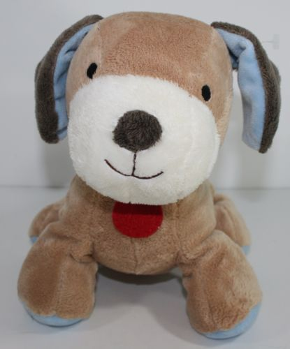 Carter S Wind Up Musical Puppy Dog Plush Stuffed Toy Head Moves