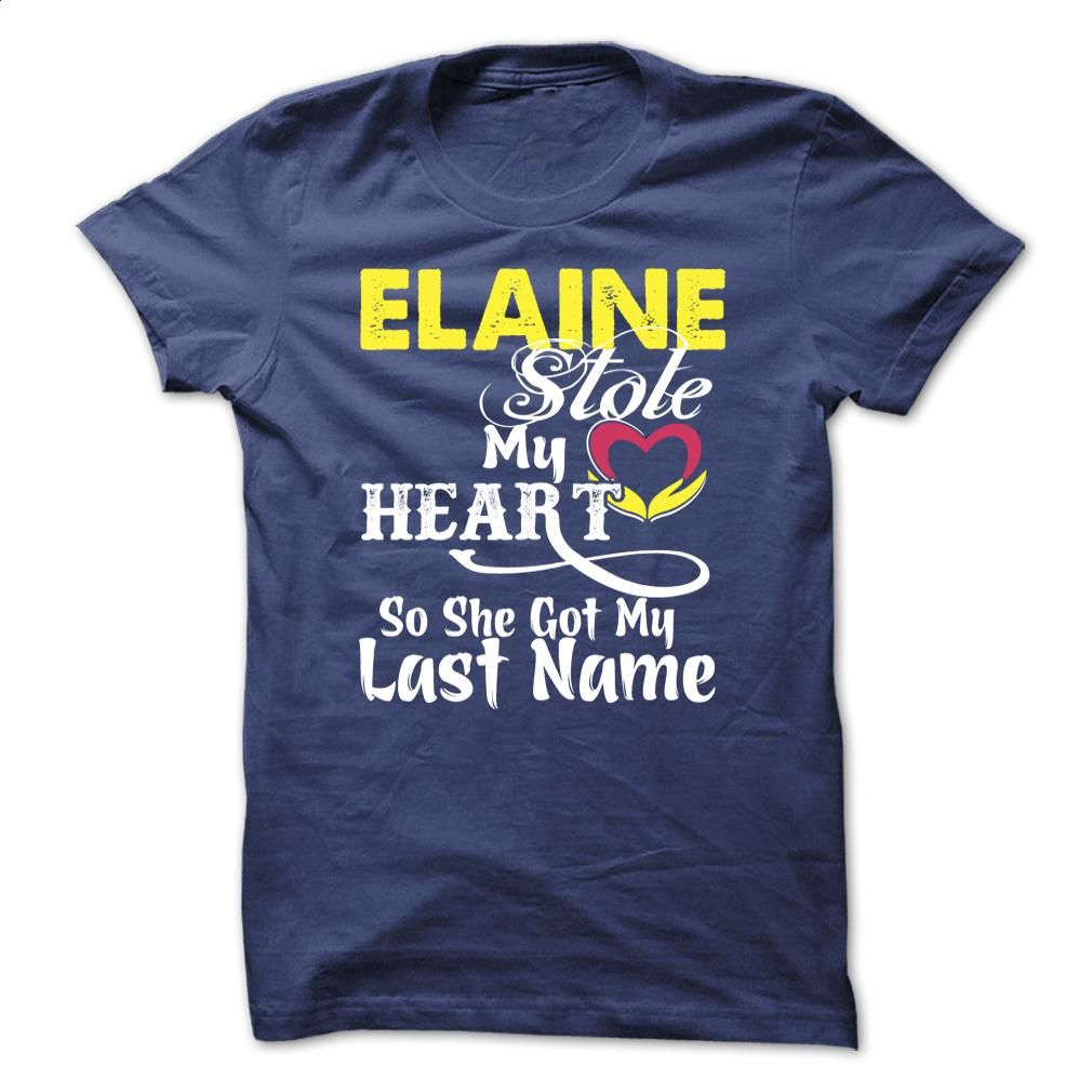 ELAINE stole my heart T Shirt, Hoodie, Sweatshirts - cheap t shirts #hoodie #style