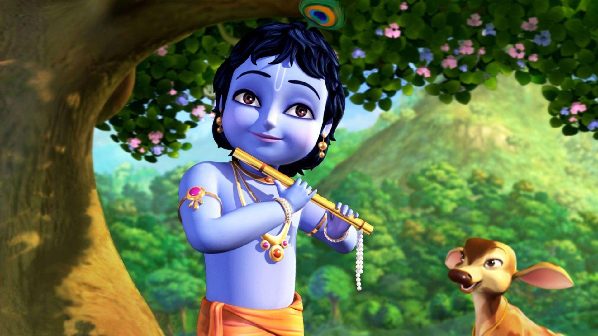 jai shri krishna cartoons krishna cartoon wallpaper hd lord krishna wallpapers pinterest