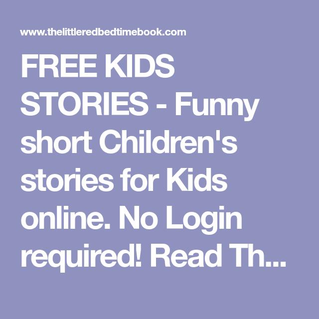 FREE KIDS STORIES - Funny short Children's stories for Kids