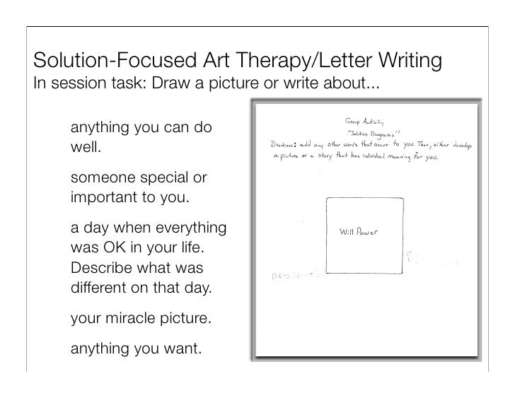Solution Focused Brief Therapy Worksheets Google Search Solution