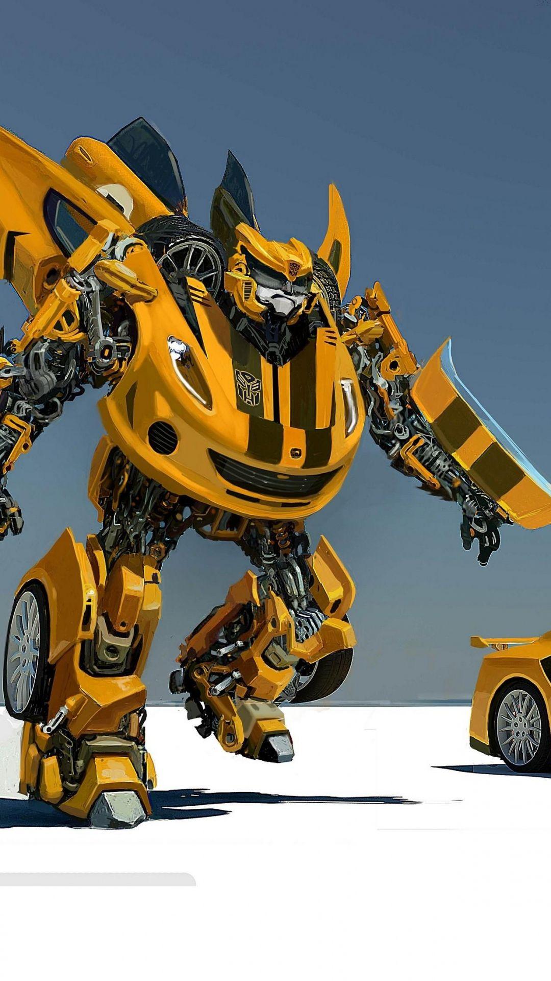 1080x1920 Wallpaper machine, robot, transformer Mobile