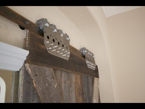 Industrial Pipes To Hang Barn Doors   YouTube