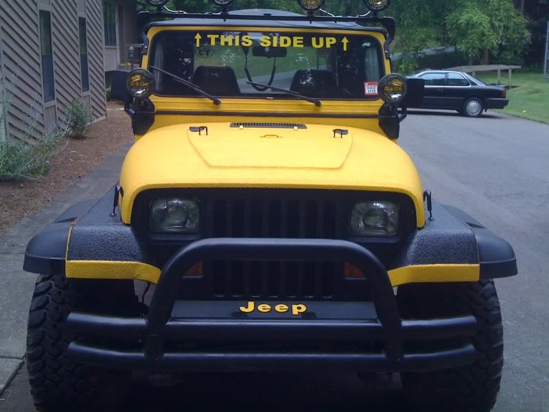 Bed Liner my YJ.???? - Jeep Wrangler Forum