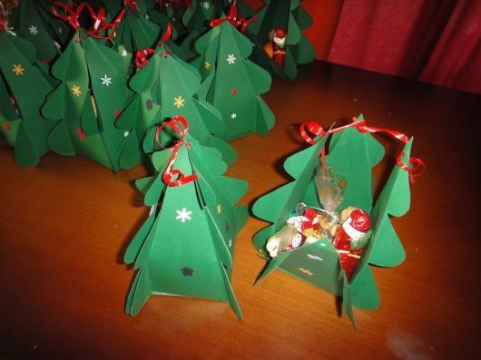 Adventskalender tannenbaum basteln