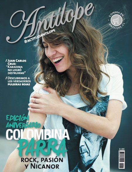 Antilope   Revista & Tienda online Revista de junio, edición aniversario con Colombina Parra