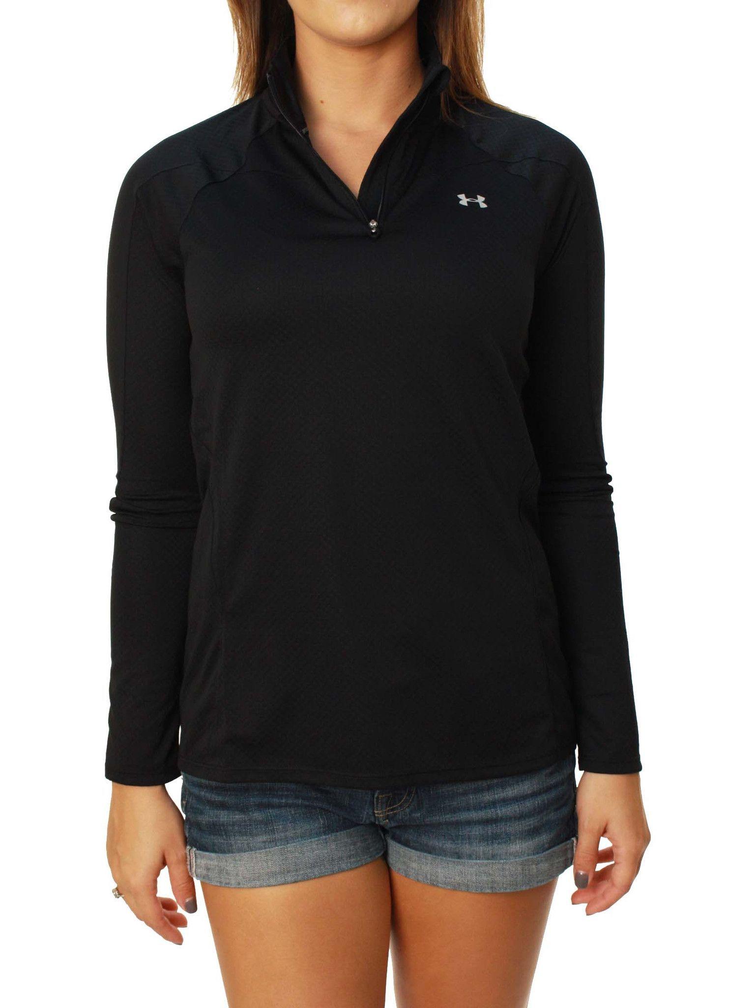 under armour quarter zip womens. under armour women\u0027s quarter zip long sleeve running shirt womens