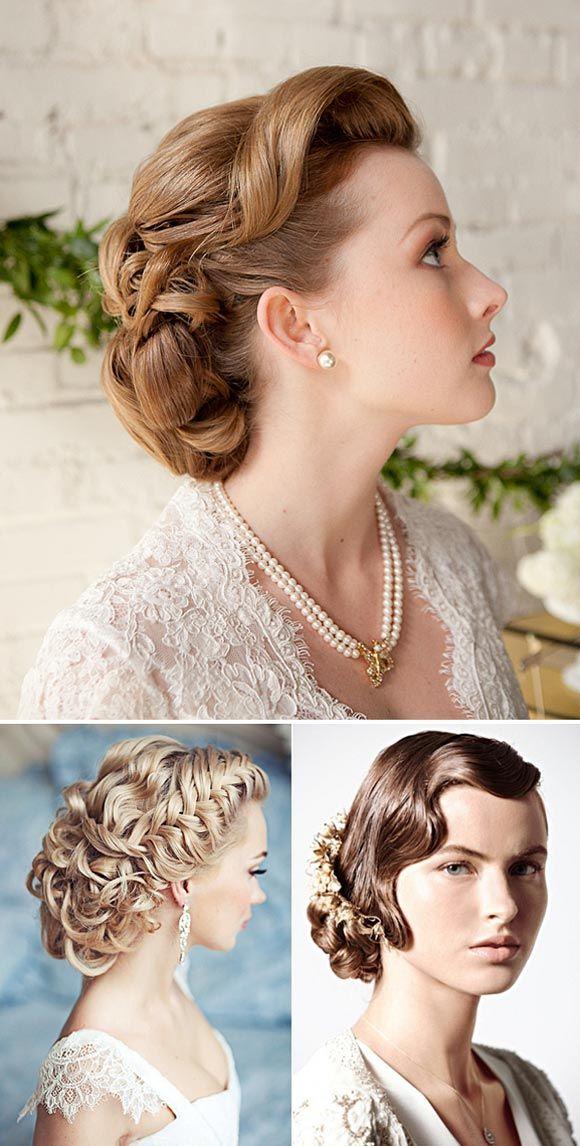 Peinados Y Maquillajes Para Novias Vintage Hairstyles Pinterest