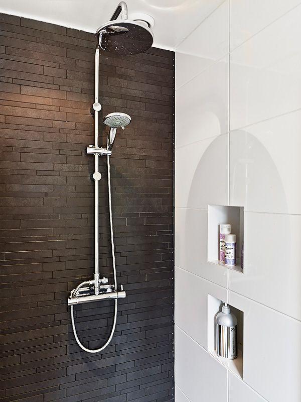 pierre de parement douche salles de bain pinterest douches salle de bains et salle. Black Bedroom Furniture Sets. Home Design Ideas
