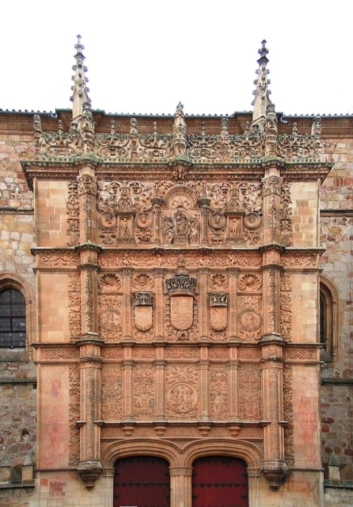 Today S Most Beautiful Libraries Of Spain Salamanca Spanish