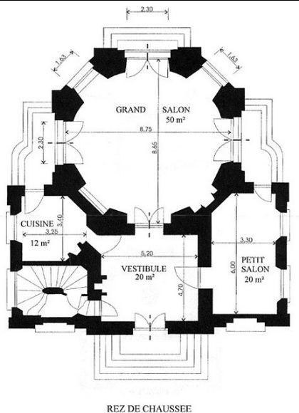 Beautiful 61 Pavillon Du Butard, Rez De Chaussee, Plan