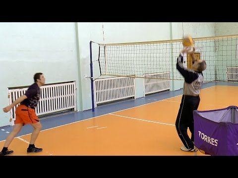 La Formazione Di Pallavolo Adulti Attaccante Attaccante L Impatto Elaborato Il Suono Youtube Voleibol Youtube Ensenar