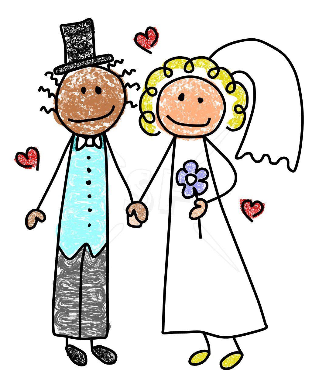 groom cute bride groom stick figures clip art stick figures rh pinterest com bridal clip art free bridal clip art images