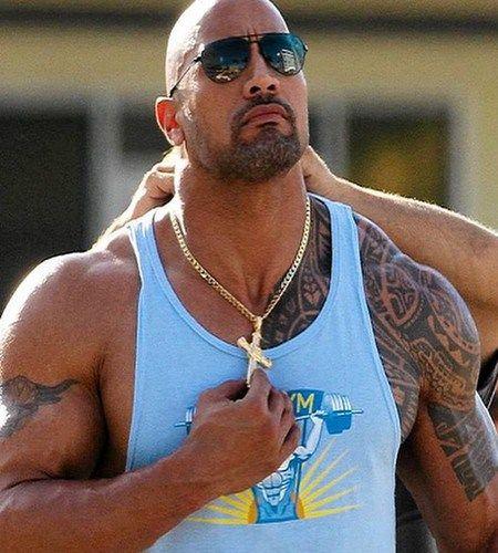 Celebrity With Maori Tattoo The Rock Dwayne Johnson Dwayne Johnson Dwayne The Rock