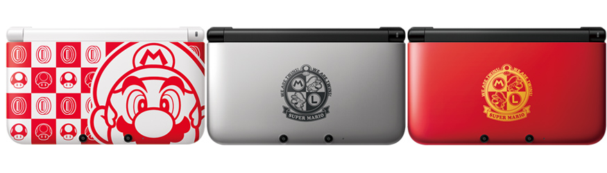 In December, through its local iQue branding, Nintendo will release these three special 3DS XL units for the Chinese market that not only boast fancy designs, but include Mario Kart 7 and Super Mario 3D Land as pre-installed games. (via Kotaku)