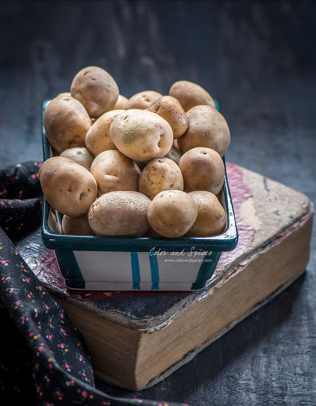 Baby Potatoes Foodphoto Foodphotography Color And Spices
