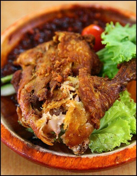 Ayam Penyet Resep Masakan Masakan Resep Masakan Indonesia