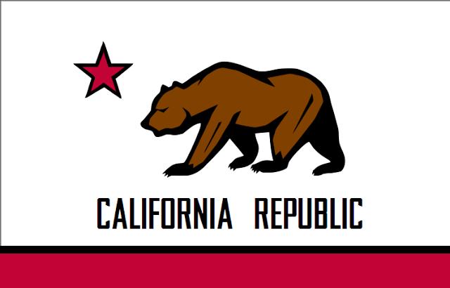 Knnhvys California State Bear Flag Concept California State California Bear California Flag