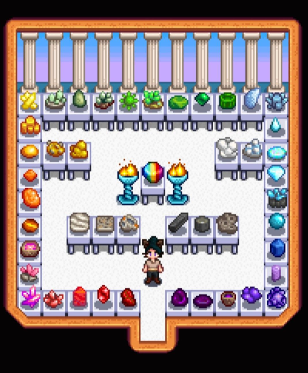 My Own Personal Gem & Mineral Museum ♡ >Stardew Valley>Shed