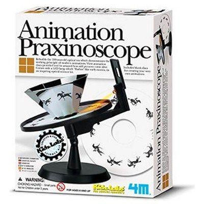 Praxinoscópio de animação filmes antigos-R$66.88