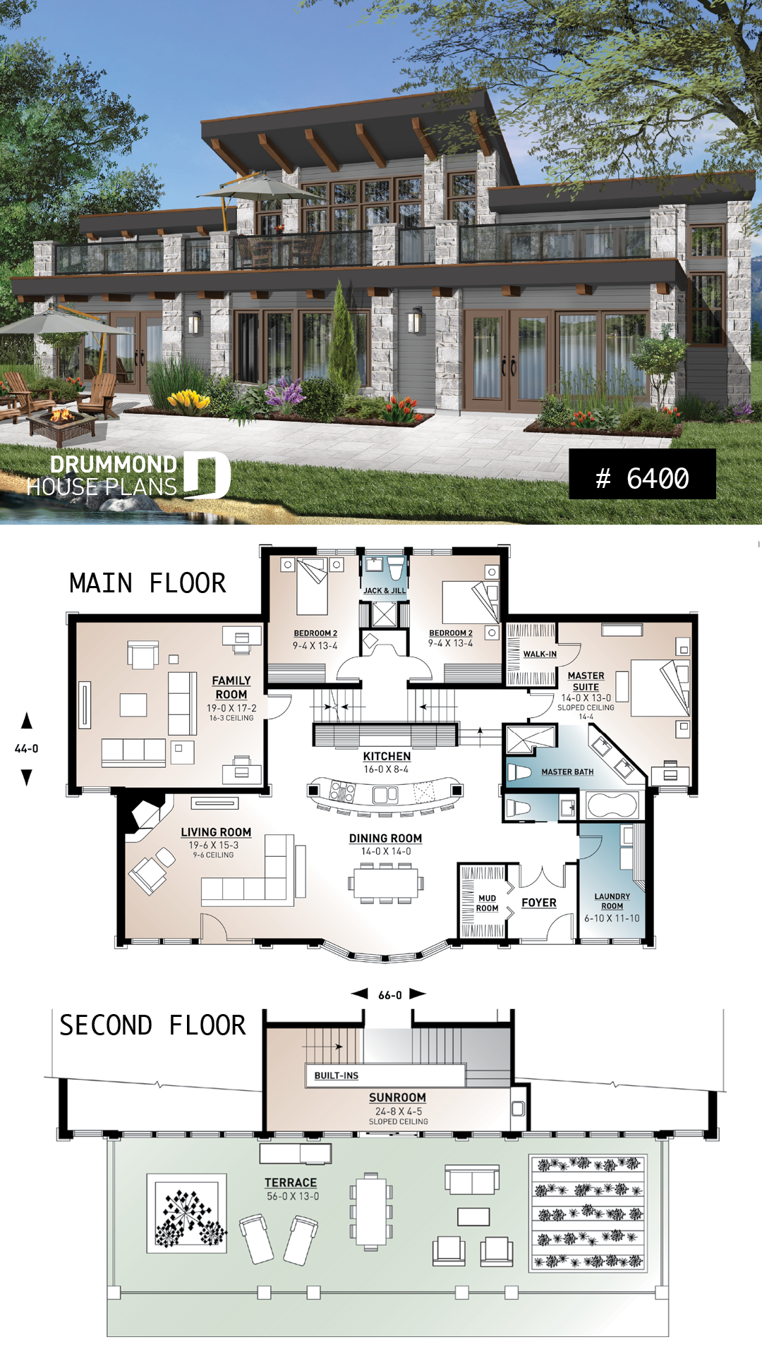 Discover The Plan 6400 Odessa Which Will Please You For Its 3 4 Bedrooms And For Its Cottage Chalet Cabin Styles House Plans Mansion Sims House Design House Blueprints