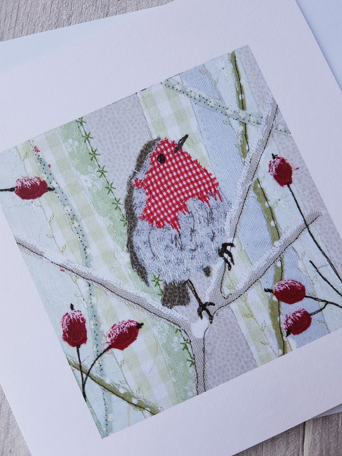 Gallery Alison Whateley Design Fabric christmas cards