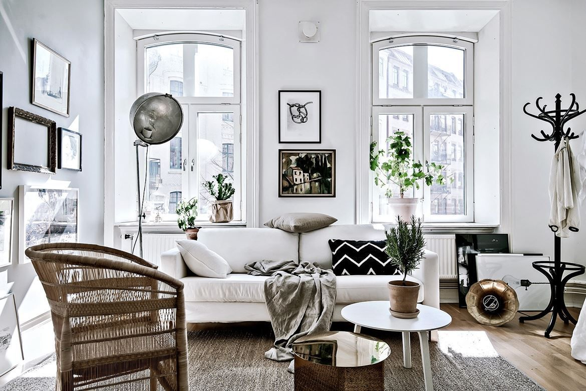 Living space could be limited to 525 square feet ok maybe if i were the only person living in it regardless this tiny 1904 apartment in gothenburg