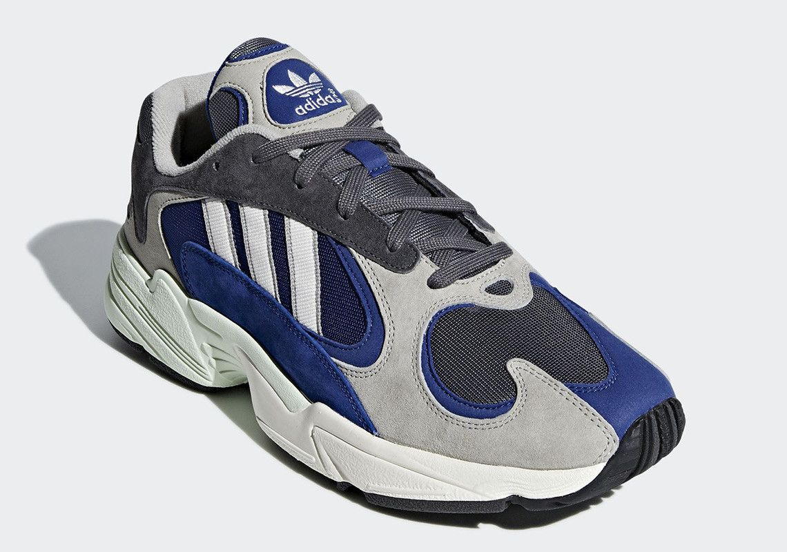 The adidas YUNG-1 Appears In New Grey And Navy Colorway  e5ae2498b