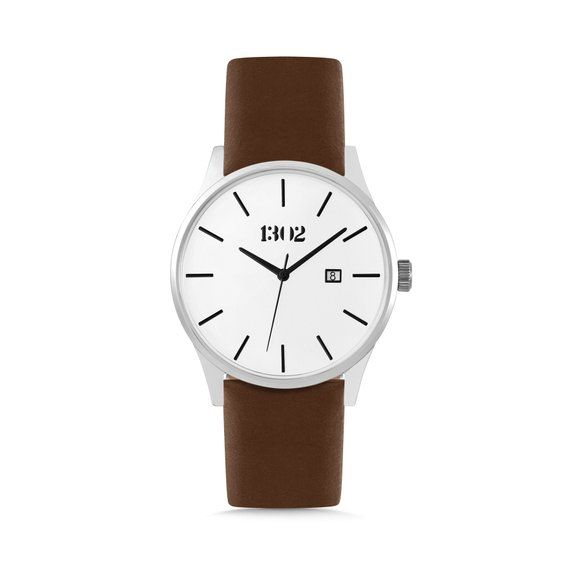 Watch Gift, Mens Watches, Silver Watch, Unique Gifts for Men, Mens