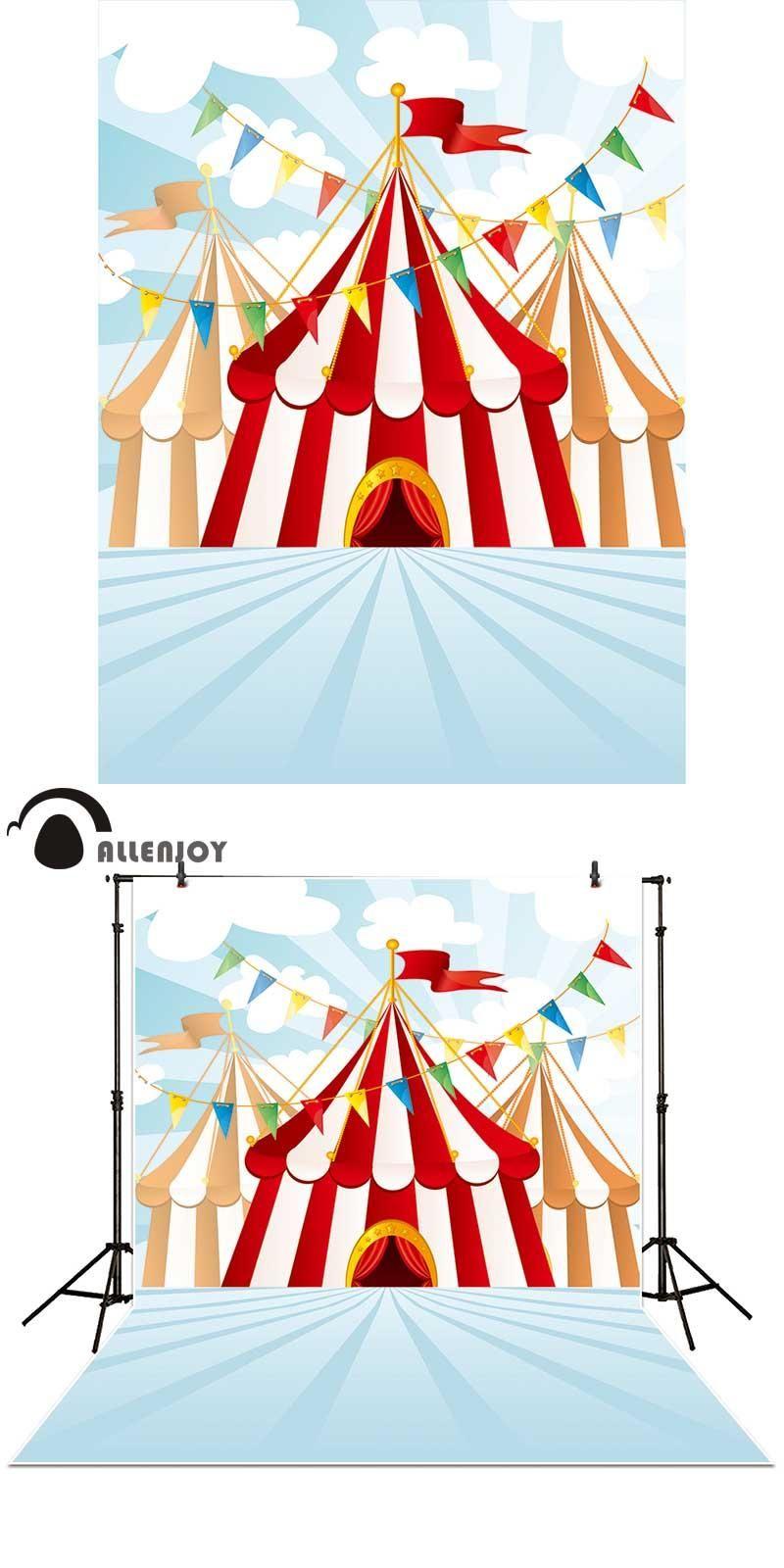 Allenjoy photography backdrops cartoon Sevilla Tent Playground carnival Carousel Flag banner photo studio background  sc 1 st  Pinterest & Allenjoy photography backdrops cartoon Sevilla Tent Playground ...