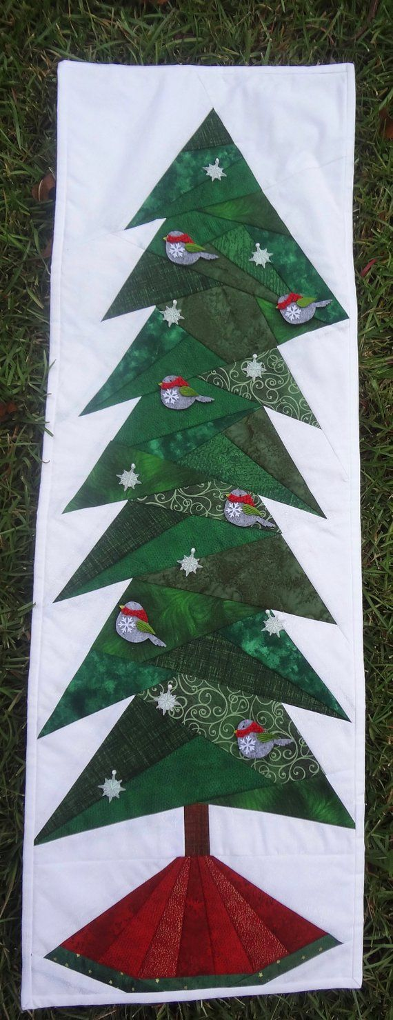 Pinterest Christmas Quilted Wall Hangings Christmas Tree Wall Hanging Christmas Quilt Holiday Tree