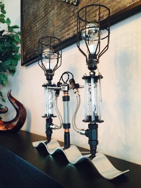 Industrial Modern steampunk lamp