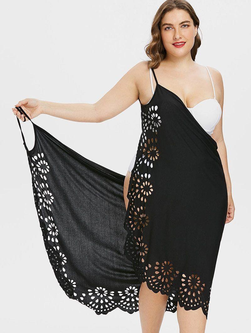 b6ba18eeecf Plus Size Sleeveless Wrap Boho Sexy Beach Dress Women Backless Floral